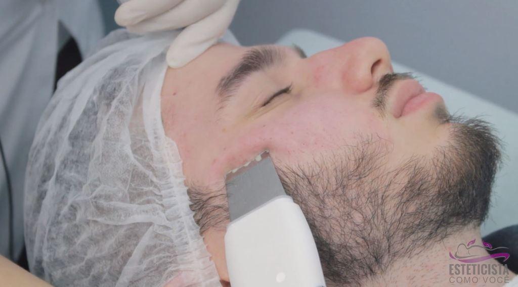 Como fazer Limpeza de Pele com Peeling Ultrassônico 5